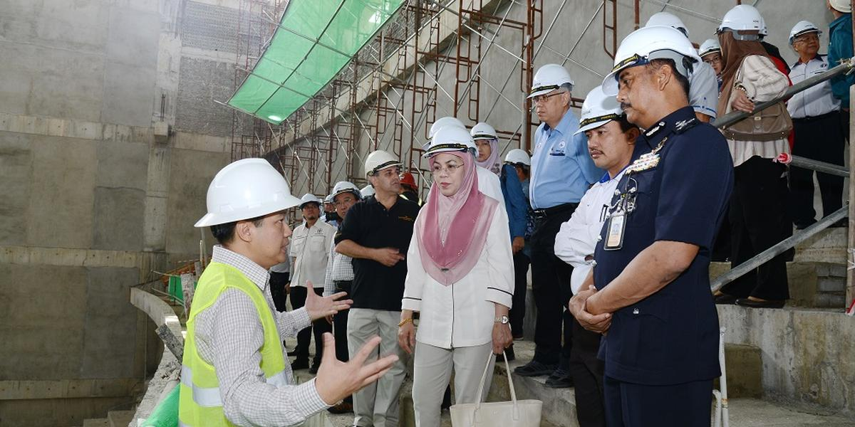 SICC Site Visit by Government Officials | Kota Kinabalu | 1 March 2018