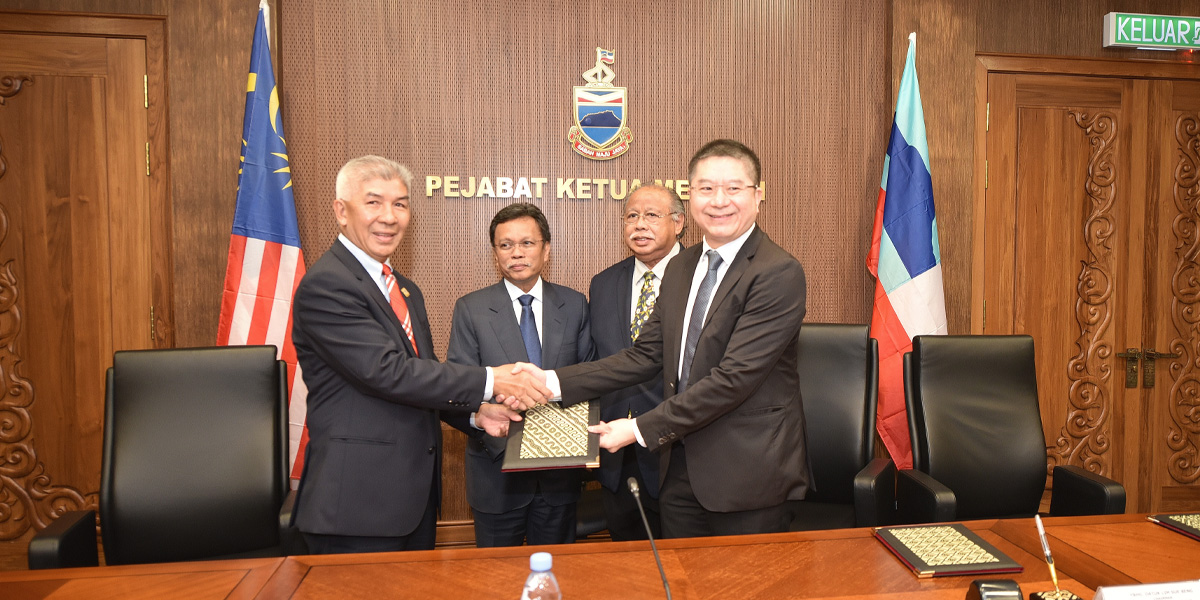 MoU Signing Ceremony between Benta Wawasan Sdn. Bhd., Biosea Corporation Sdn. Bhd. and Lax Global Resources Sdn. Bhd.  | PPNS| 11 February 2020